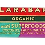 Diet & Nutrition-LaraBar Organic with Superfoods Coconut Kale Cacao, Gluten Free Bars