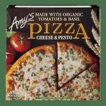 Frozen-Amy's Cheese & Pesto Pizza