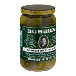 Pantry & Dry Goods-Bubbies Kosher Dill Pickles
