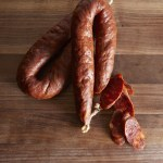 Smoked & Cured Meats-Hot Chorizo Sausage