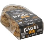 Special Diets-O'Dough Gluten Free Bagel Thins, Everything, 6 CT