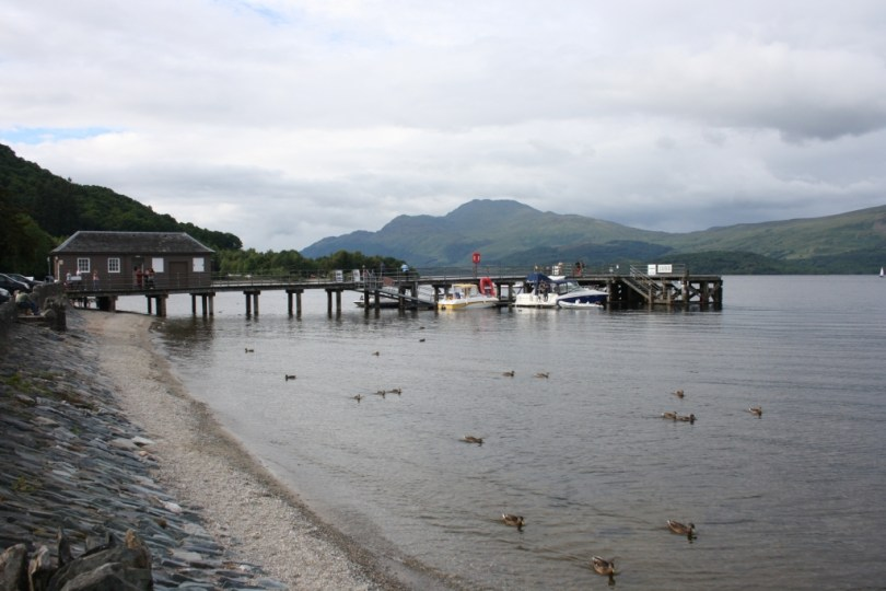 Loch Lomond en Luss, no Trossachs National Park