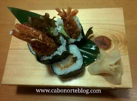 Sushi en Kioto