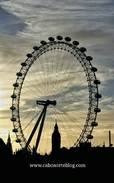 eye of london, london, londres
