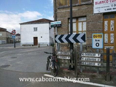 camino de santiago, camino sanabrés, laza, ourense