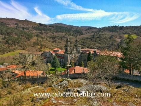 camino de santiago, camino sanabrés, mosteiro de oseira, oseira, ourense, galiza