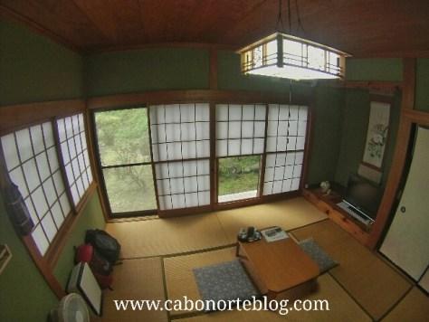 Habitación de ryokan en Nikko