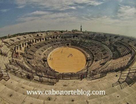 Anfiteatro de Nimes (Francia)