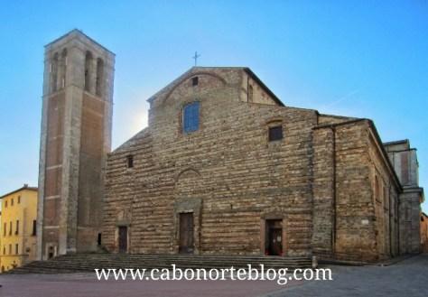 Duomo de Montepulciano, toscana, italia