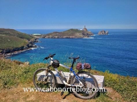 O Cabo Vilano nunha ruta en bici