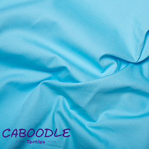 Sky Blue 100% Cotton Poplin Fabric