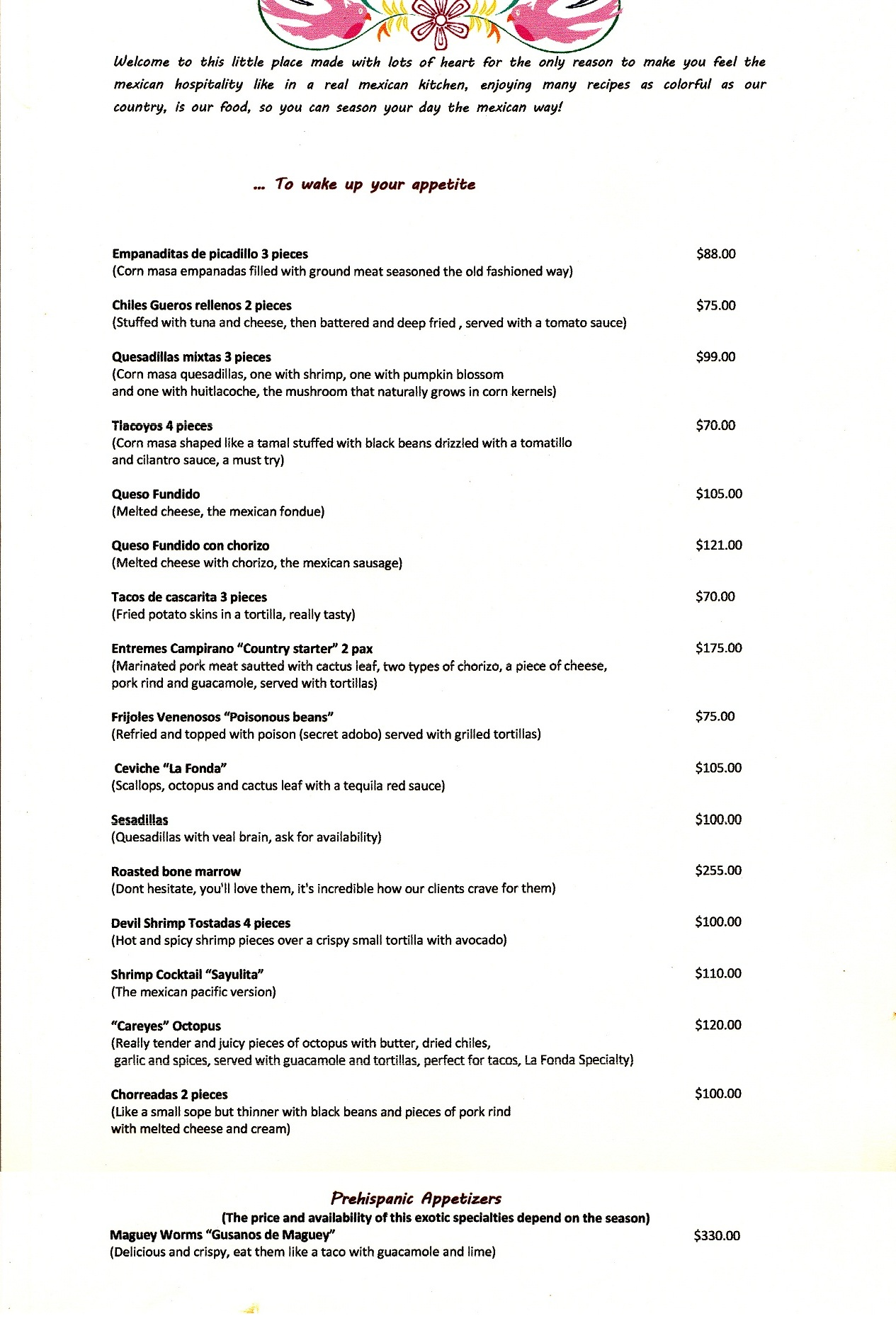 La Fonda Restaurant by Cabopedia
