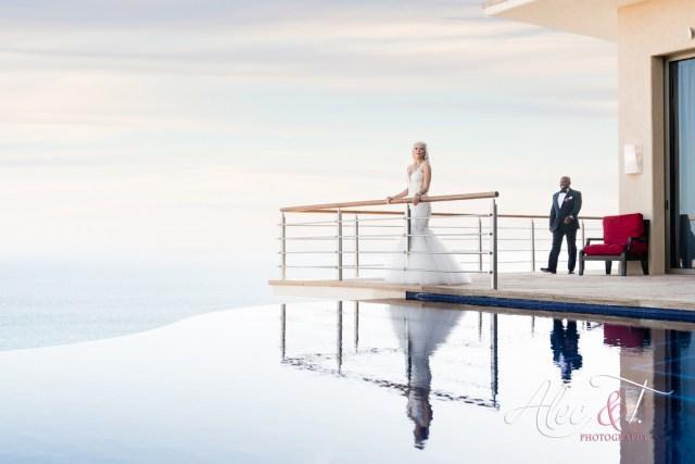 Mariage de destination de luxe à la Villa Bellissima à Cabo San Lucas au Mexique