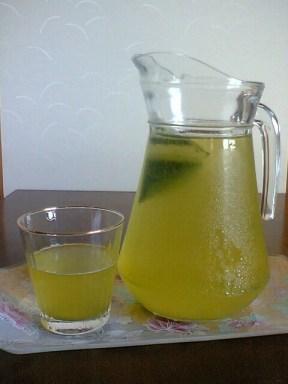 ceai verde cu gheata e de belea