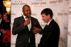 Lansare International Sinaia Cabral Ibacka si Marius Vanatoru