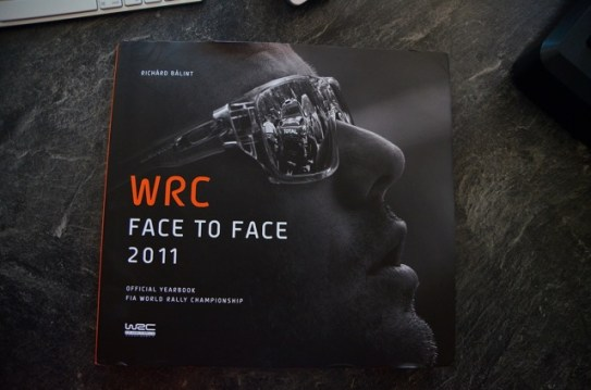 WRC Face to face 2011 official cover