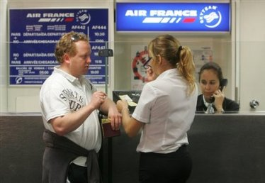 Air France check-in