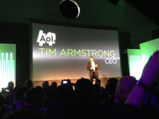 #newHTC One launch - partnership with AOL - Tim Armstrong1