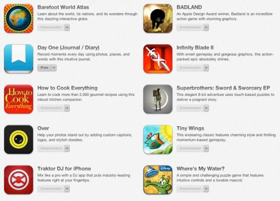 5 years App Store free apps