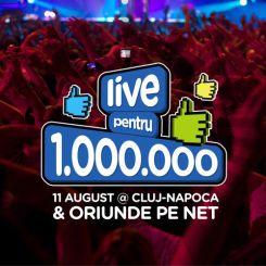Lidl 1 milion de fani - live pentru 1.000