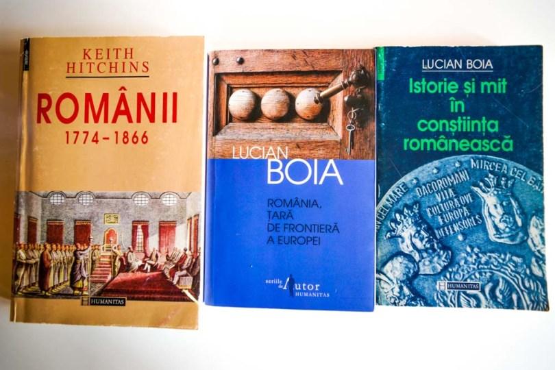 istoria României in 3 carti