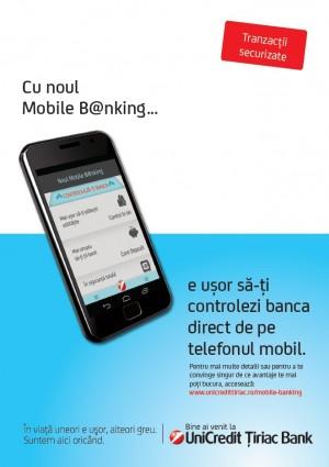Poster Mobile B@nking