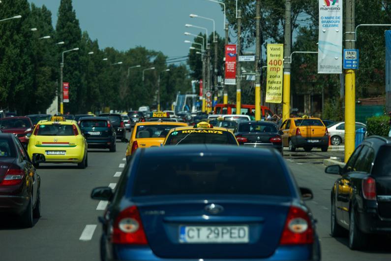 trafic Mamaia 2014