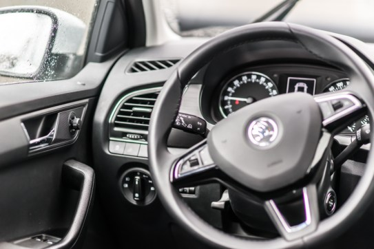 Noua Skoda Fabia 2015 interior (9 of 18)