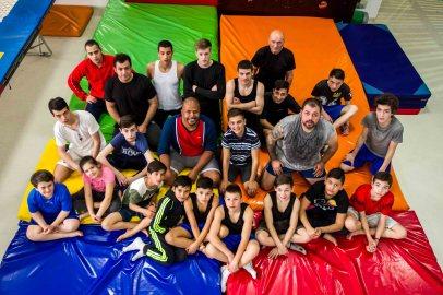 Cabral cu copiii Gladiatorii - Sobi Ceh