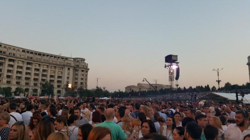 Robbie Williams București 1