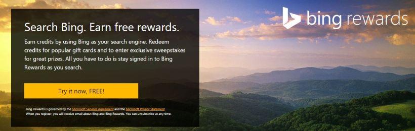 Bing Rewards 1