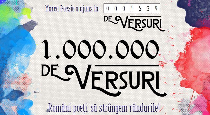 poezia de 1.000.000 de versuri