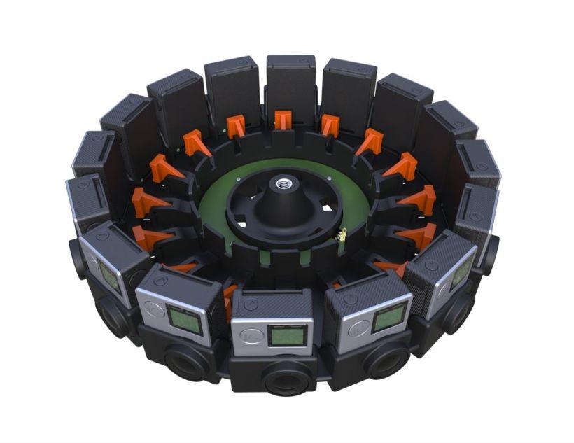 GoPro rig 360 de grade