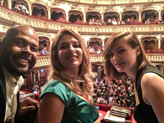 TIFF 2016 Gala de Premiere - Amalia, Ioana si Cabral (1 of 1)
