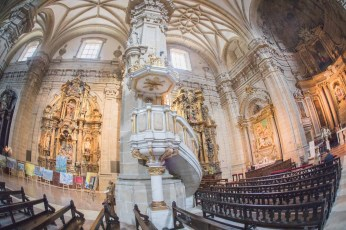Basilica de Santa Maria de Coro in San Sebastian (church) - wide-fisheye (14 of 41)