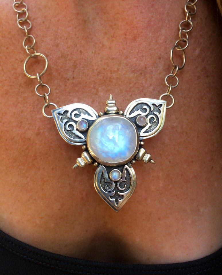 jewelry moonstone ns necklace moth luna soul p bea htm jewellery fairy beautiful