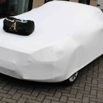 Abarth 124 Spider Indoor Car Cover White Cabrio Supply