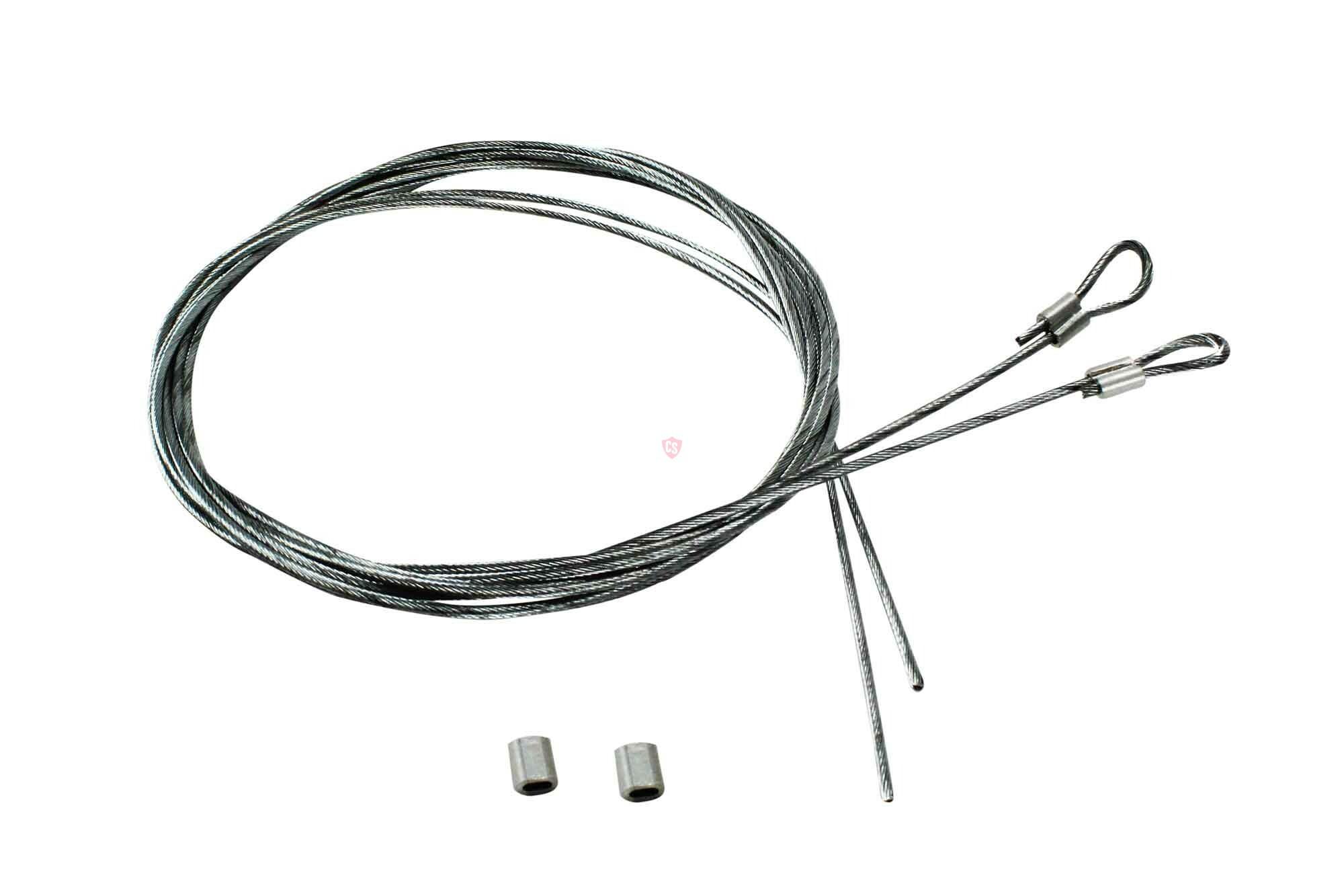 Fiat Punto Cabrio Side Tension Cable Set (2 Pieces