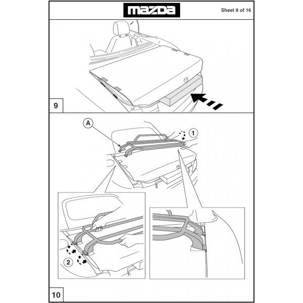 Genuine Mazda MX-5 NC (Mark 3) Roadster (Fabric Top