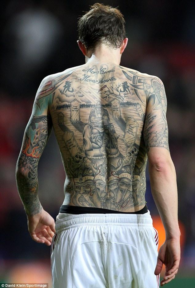Top 10 Futbolistas Más Adictos A Los Tatuajes Cabroworld