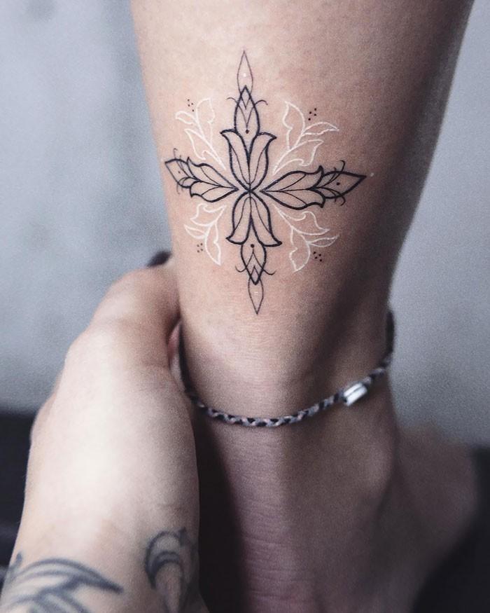 Habías Visto Alguna Vez Tatuajes Hechos Con Tinta Blanca Son