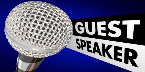 Customer Advisory Board guest speaker?
