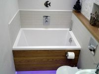 Calyx Deep Soaking Bath | Minimal Deep Soaking Tub