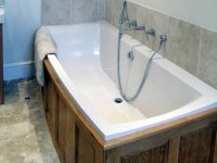 Arcadia built-in bath | Traditional Oval Built-In Bath