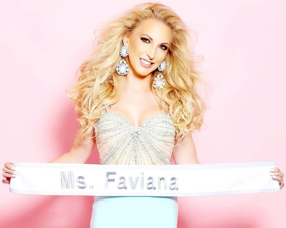 Faviana Eve Dawes女士耀眼的礼服