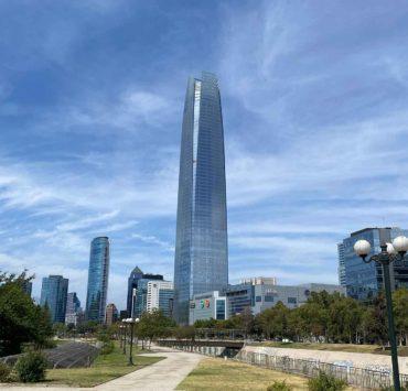 圣地亚哥智利天空君士坦丁堡塔格兰托瑞公园