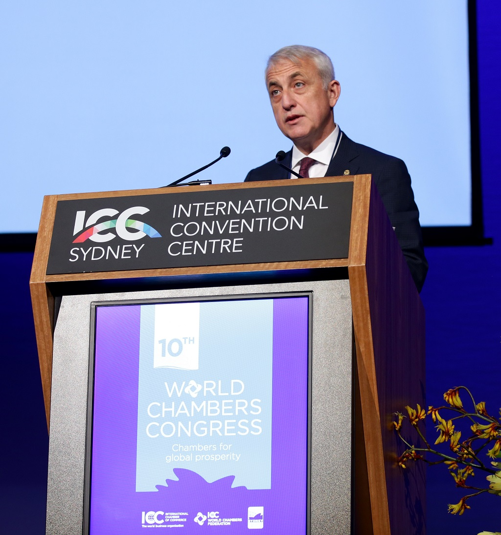 10th World Chambers Congress Day 1 .Picture : Gregg Porteous
