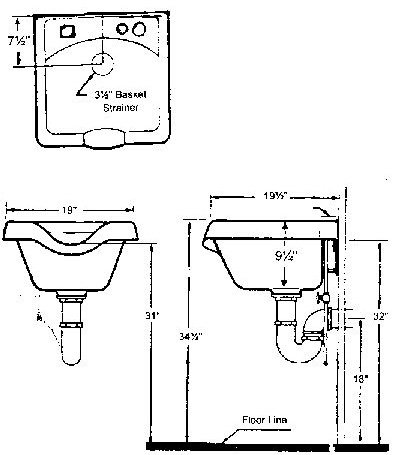 Shampoo Bowl Installation Instructions