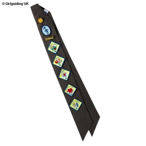 brownie sash diagram underfloor heating wiring diagrams extra long badge   cachet kids