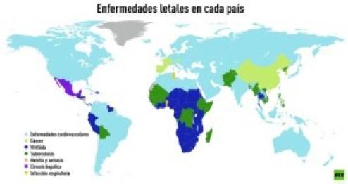 Mapa-mundial-de-enfermedades